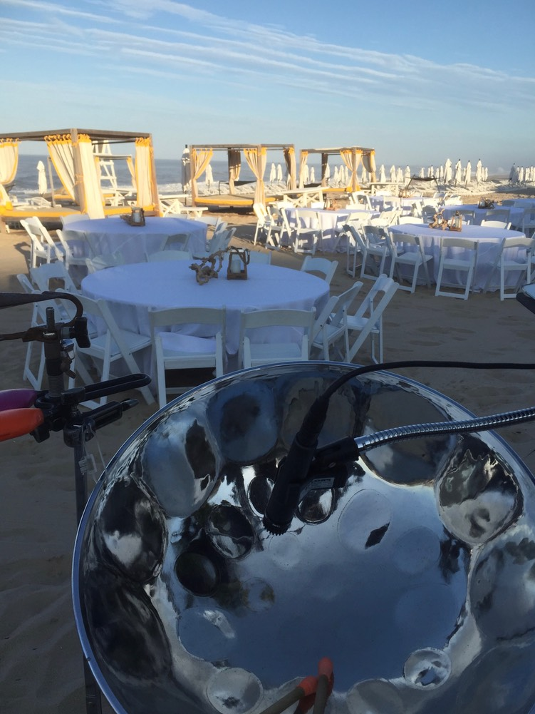 STEEL DRUM BEACH WEDDING THE HAMPTONS NY